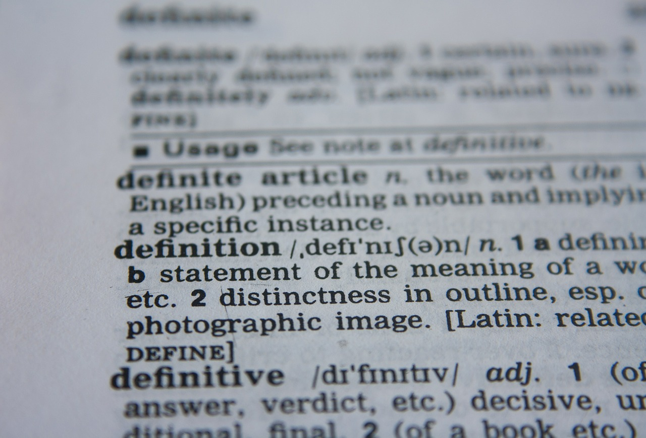 definition, word, dictionary